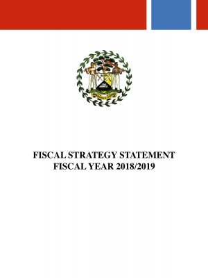Fiscal Strategy 2018