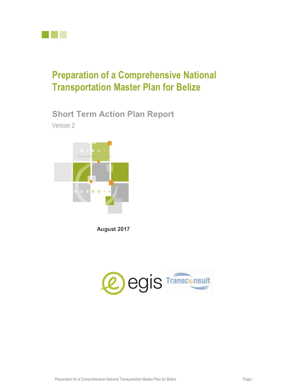 Comprehensive National Transportation Master Plan (CNTMP)